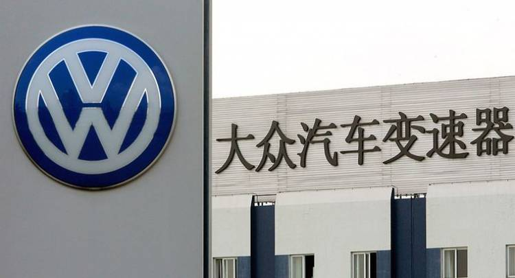 Volkswagen steigert Absatz in China