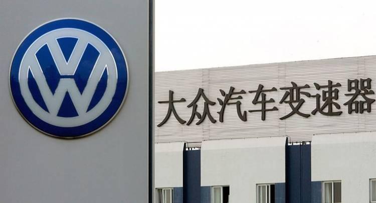 Volkswagen steigert Absatz in China