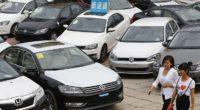 Autoabsatz 2017 in China auf Rekordhoch
