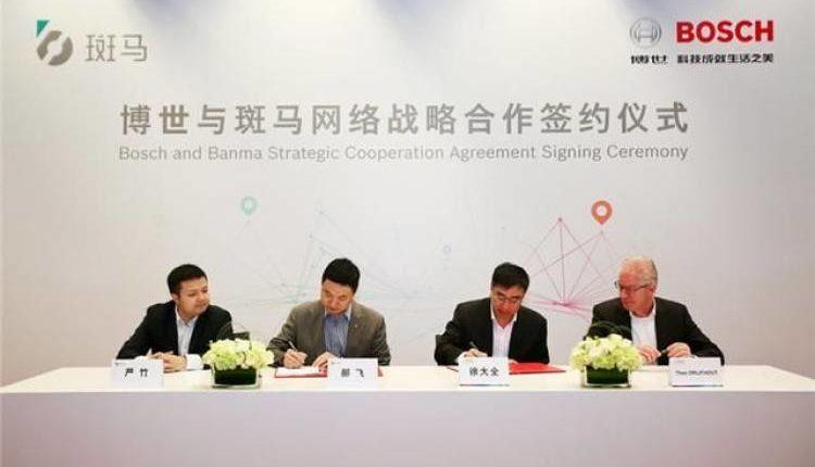 Bosch mit strategischer Kooperation