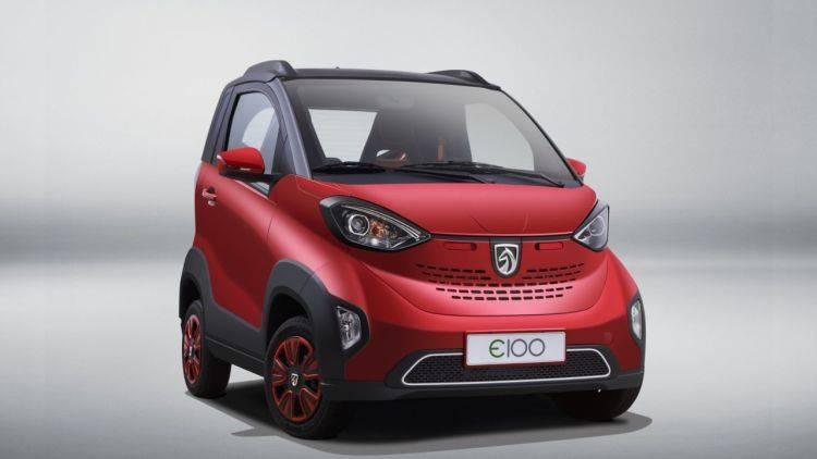 Cityfloh Baojun E100 bekommt Upgrade