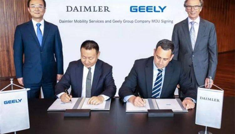 Daimler und Geely gründen Joint Venture