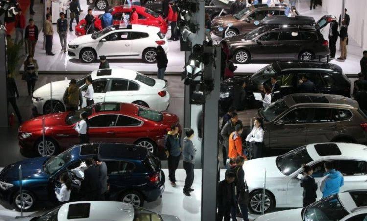 Autoabsatz in China weiter im Abwärtstrend
