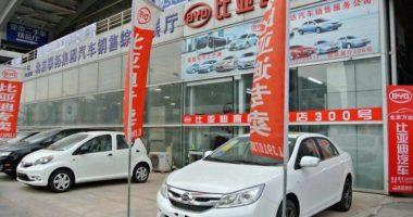 Autohändler in China unter Druck