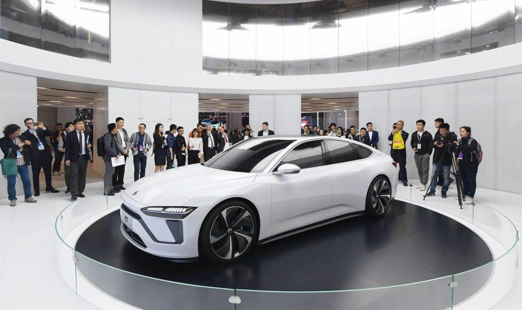 NIO präsentiert erste Limousine ET