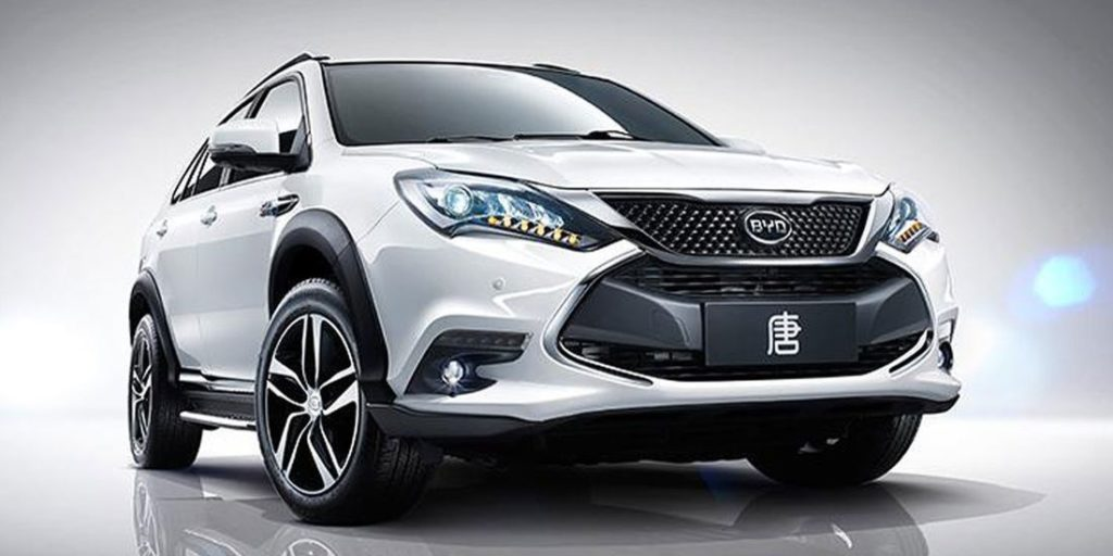 BYD SUV Tang DM