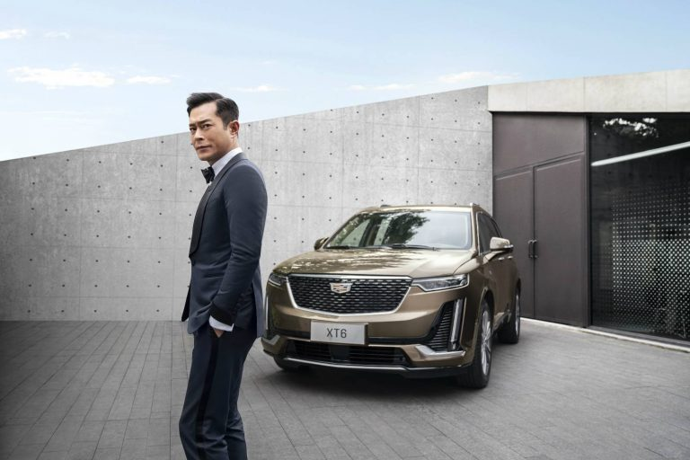 SUV Cadillac XT6 Ambassador Louis Koo