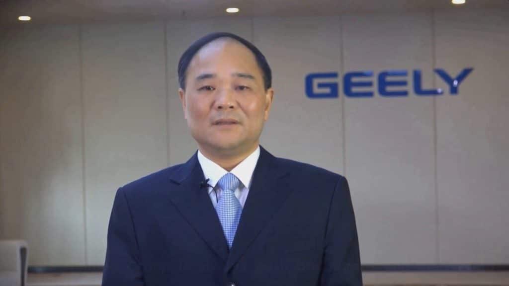 Geely Gründer Li Shufu