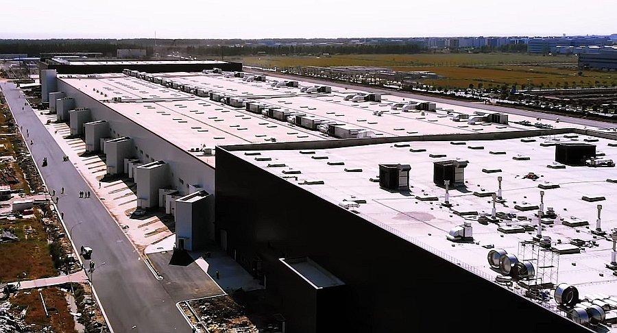 Tesla Gigafactory 3 Shanghai