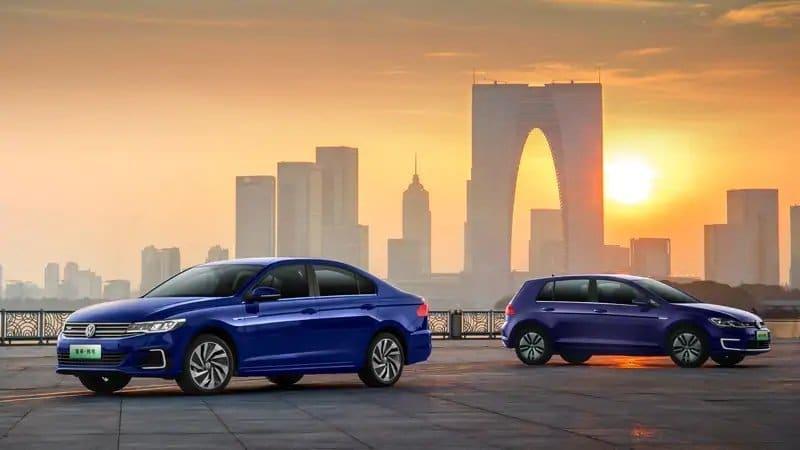 E-Golf und E-Bora von FAW Volkswagen