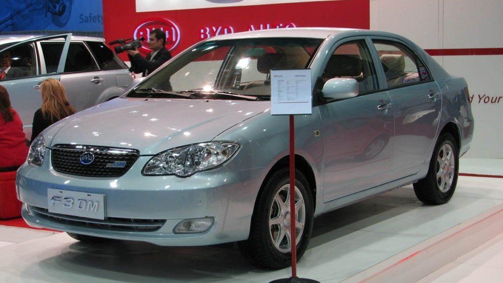 BYD Auto Plug-In Hybrid F3DM