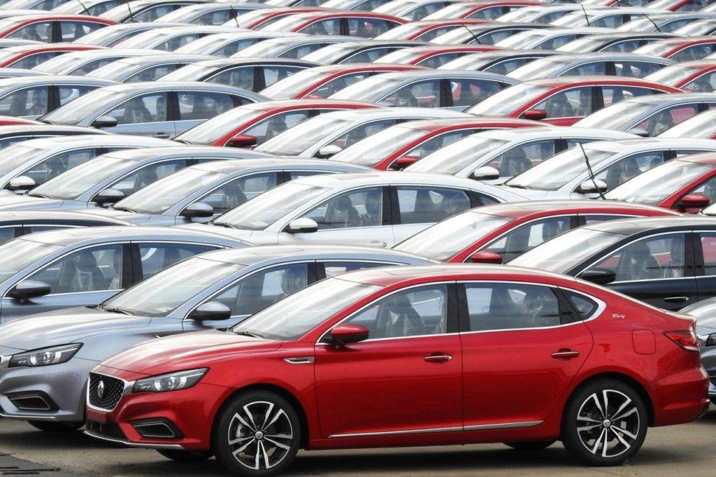 Jahresdaten Autoabsatz China 2019