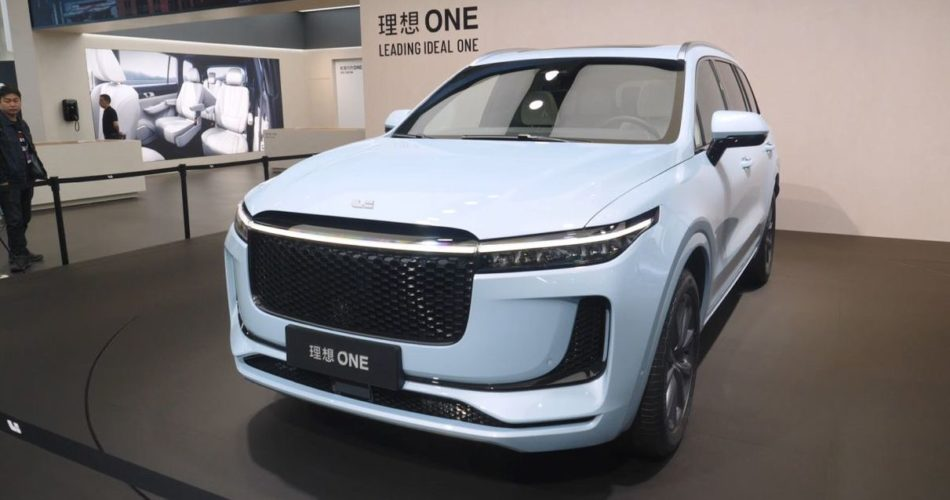 Leading Ideal One Elektroauto mit Range Extender