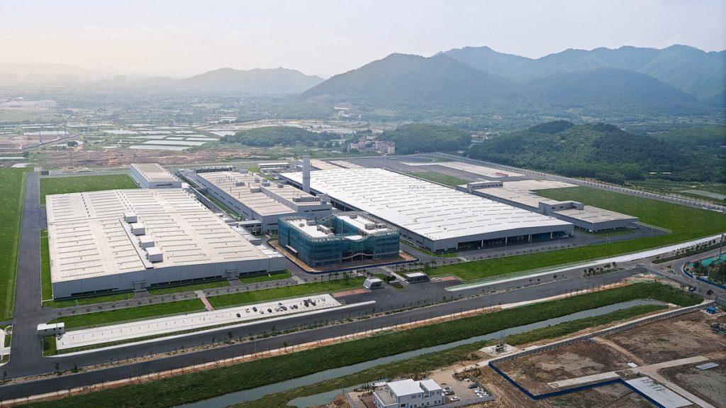 Xpeng Motors Produktionstätte