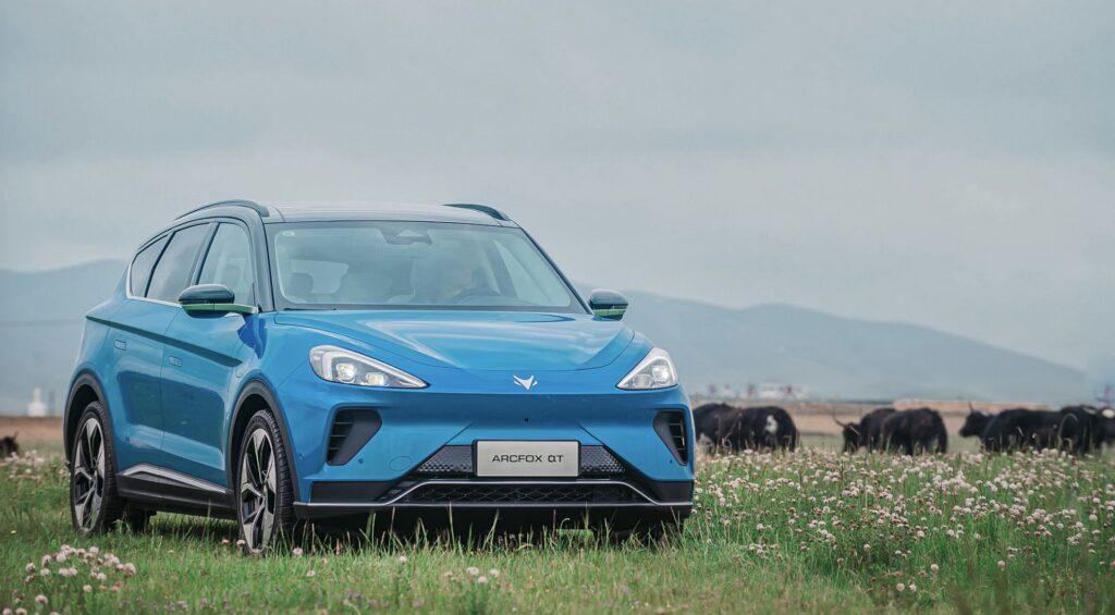 Elektro SUV ArcFox Alpha-t