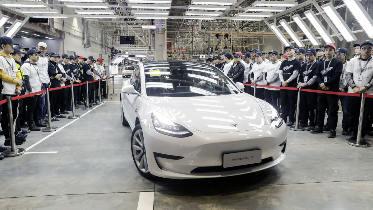 Tesla Model 3 China Version